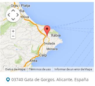 mapa gata